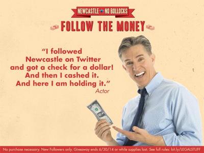 Newcastle - Follow the money