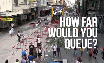 How far would you queue for Fantastic Delites Curls?