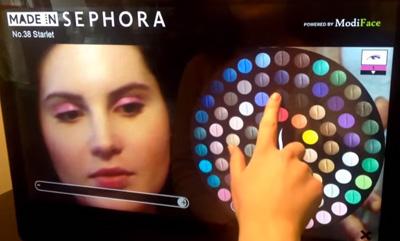 Sephora 3D Augmented Reality Mirror