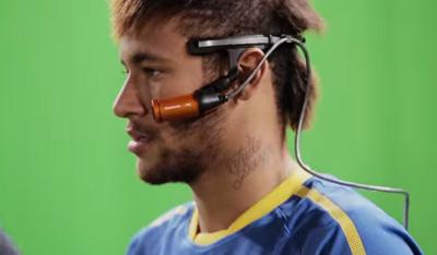 Neymar Jr.'s eyes - Panasonic