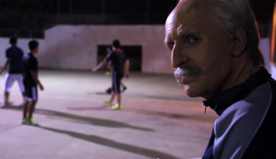 COPPEL introduce to you the UNEXPECTED grandfather Memo playing football