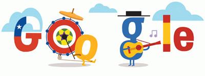 Google FIFAワールドカップ チリ スペイン