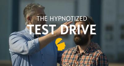 Hypnotized Car Test Drive by Opel