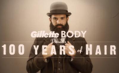 100 Years of Hair | Gillette BODY Razor