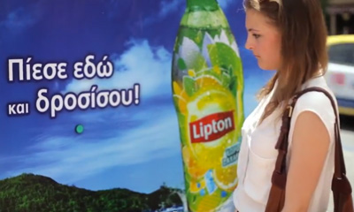Cool Down Stop-Lipton Ice Tea