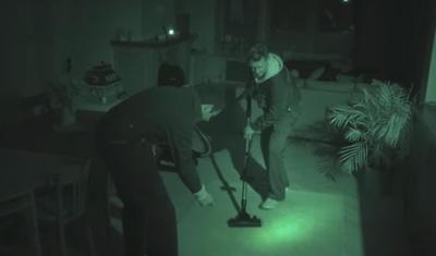 The quietest burglars ... vacuum at night