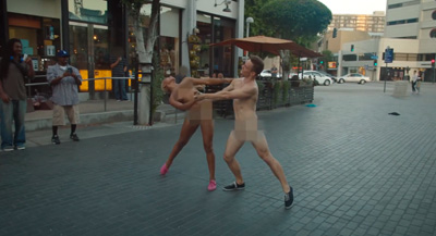 Dating Naked presents: Dancing Naked Stunt
