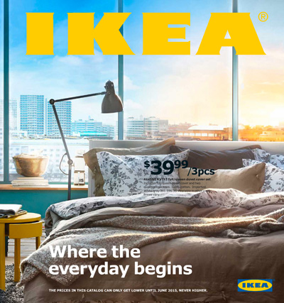 IKEAカタログ 2015