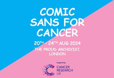 Comic Sans For Cancer