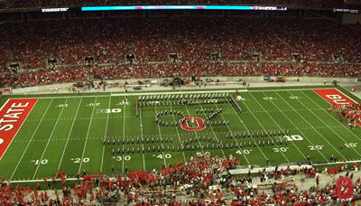 Ohio State Marching Band – The Wizard of Oz