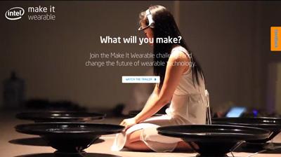 Wearable Technology - Make It Wearable Challenge by Intel