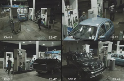 The Walking Dead CCTV Petrol Station Take-over