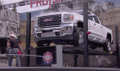 The Calgary Stampede and GMC ProShot