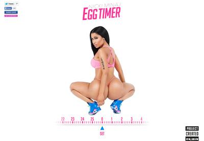 Nicki Minaj's Egg Timer