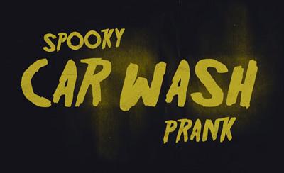 Spooky Halloween Car Wash Prank