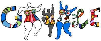 Google フランス出身のアーティスト、ニキ・ド・サンファル生誕84周年記念ロゴに!