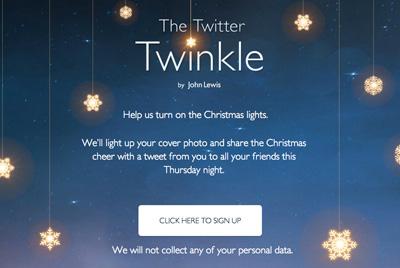 John Lewis Twitter Twinkle