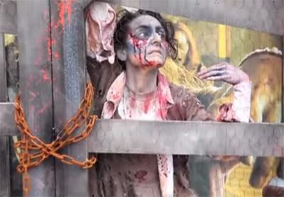 Walking Dead Stunts