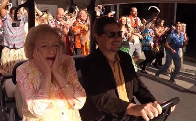 Betty White's 93rd Birthday Flash Mob