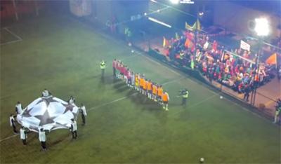 UEFA Champions League 5-A Side Surprise Match with Pierluigi Collina