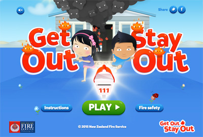 Get Out Stay Out - New Zealand Fire Service