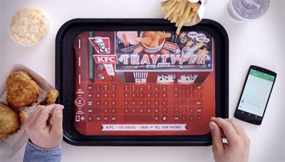 KFC - Tray Typer
