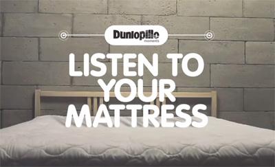 Dunlopillo Listen To Your Mattress