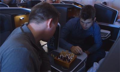 The 30000 feet chess challenge!