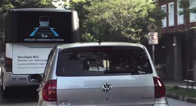 Interactive Bus Back Volkswagen