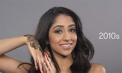 100 Years of Beauty:India (Trisha)