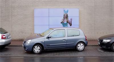 Fiat Parking Billboard