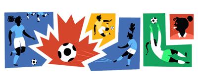 Google FIFA女子ワールドカップ カナダ2015記念ロゴに!