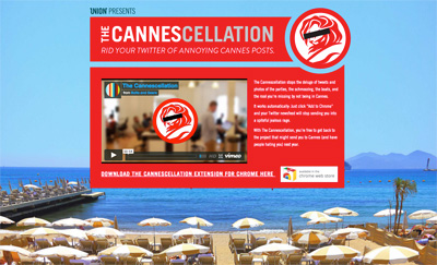 The Cannescellation