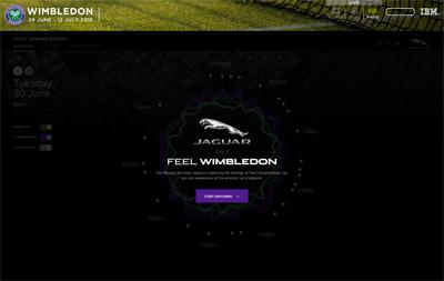 Feel Wimbledon with Jaguar UK