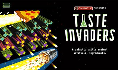 Chipotle | Taste Invaders