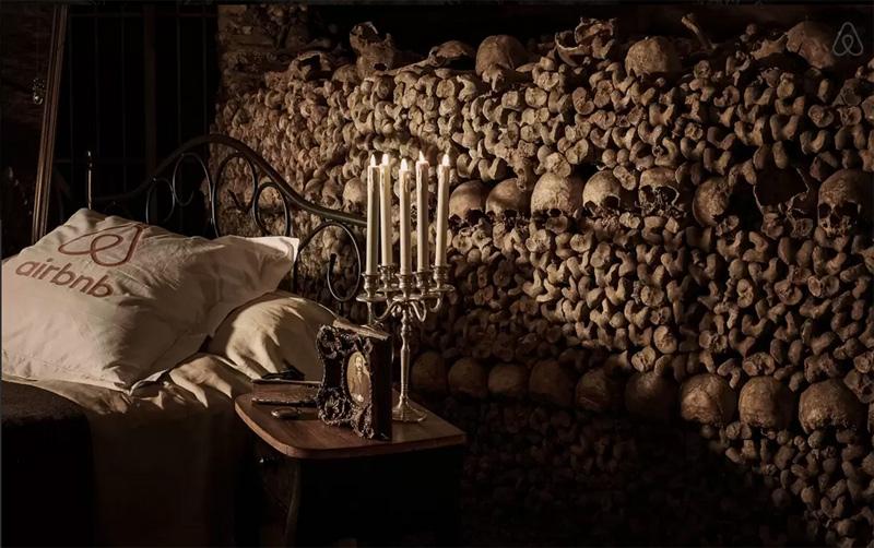 Halloween dans les Catacombes