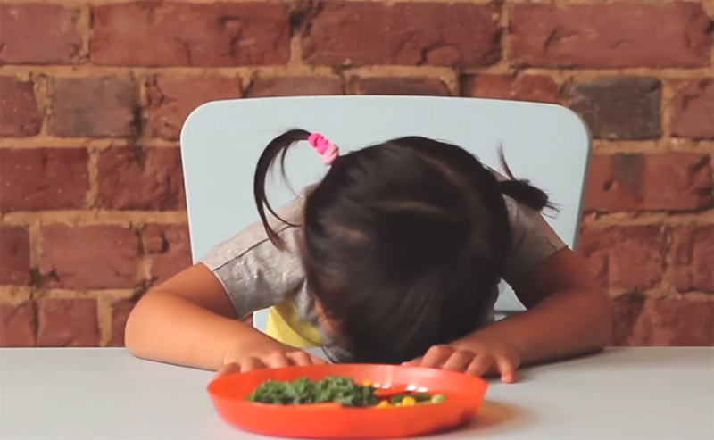How to get kids to eat their vegetables.