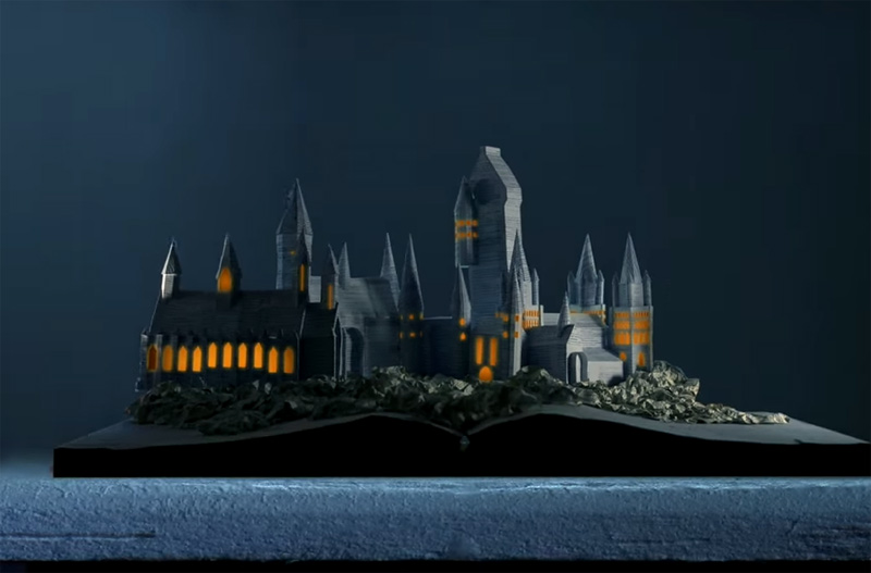 Hogwarts -Built from the pages of Harry Potter
