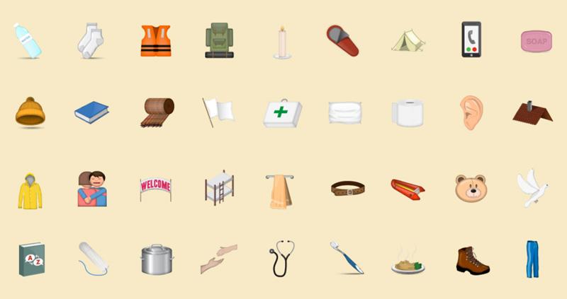 Refugee Emojis