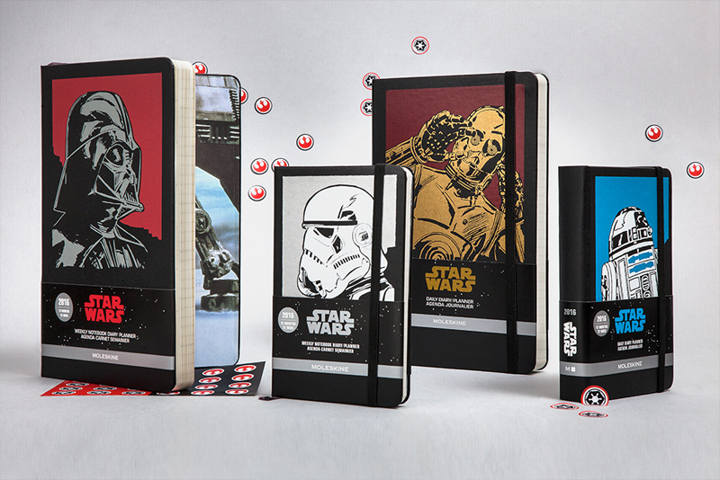 Moleskine Star Wars Notebook and Origami Template