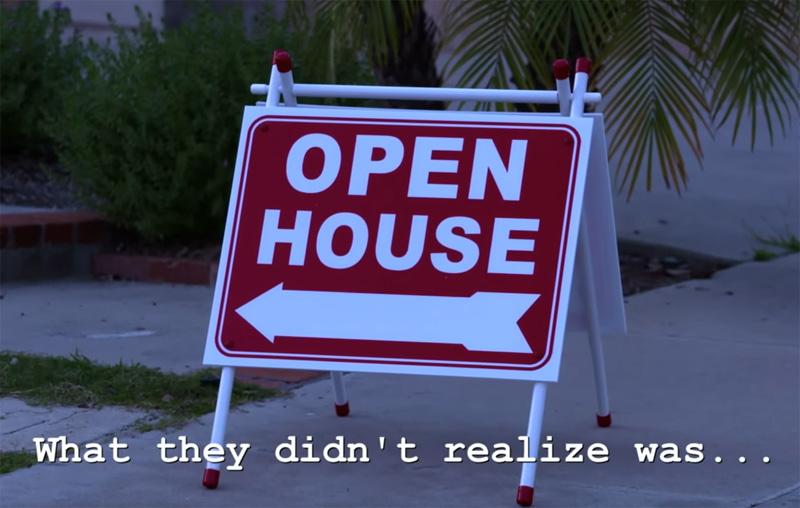Haunted Open House Prank