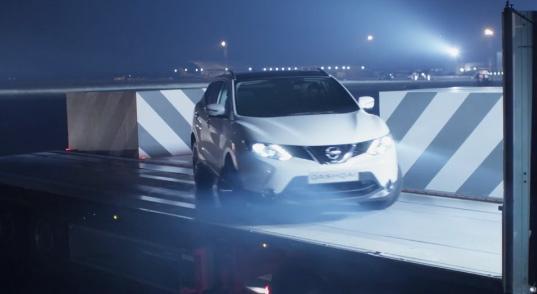 Parking under Pressure with Nissan Qashqai