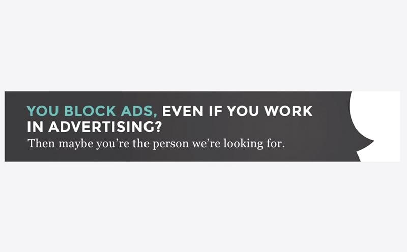Boondoggle - Adblocker recruiting