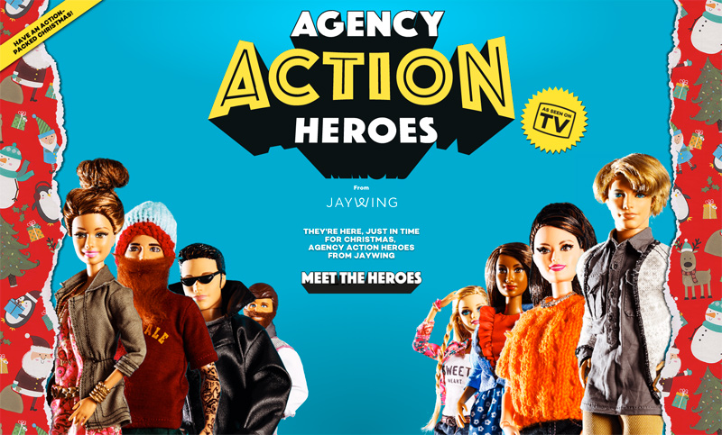 Agency action heroes | Jaywing