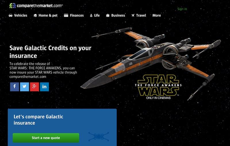 Galactic insurance | comparethemarket
