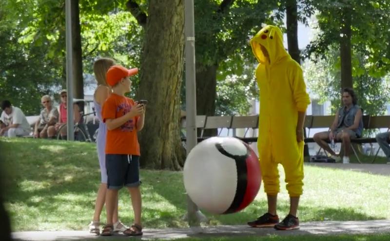 Pokémons gone wild in Basel