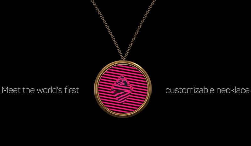 Bisou. The World's First Customizable Necklace.