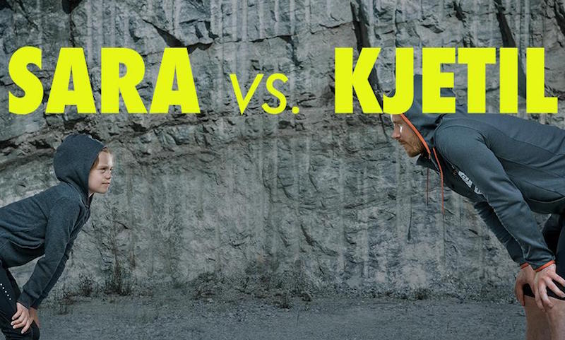 Video Sara vs Kjetil - Tinemelk