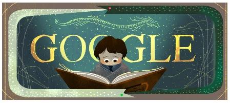 Google ミヒャエル・エンデ著のファンタジー小説「はてしない物語」出版37周年記念ロゴに!