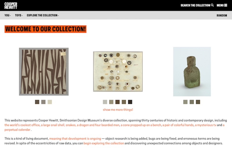 The Collection | Collection of Cooper Hewitt, Smithsonian Design Museum